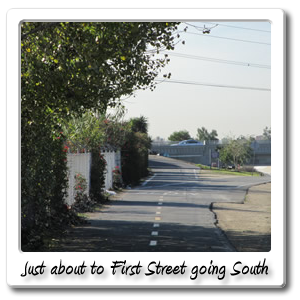 Going_South_toward_First_Street_exit