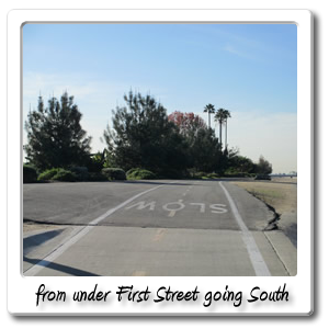 from_under_First_Street_going_South